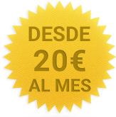 Trasteros desde 20 euros